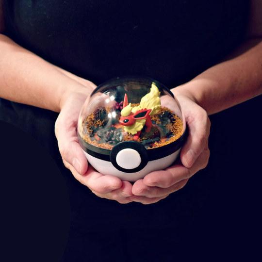 美国艺术家发售《精灵宝可梦》玻璃盆栽受热捧