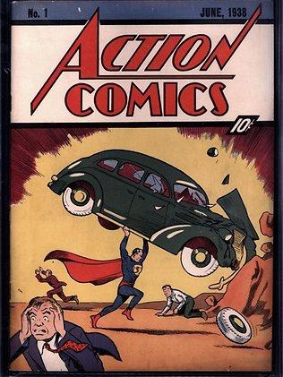 《超人》漫画拍卖出216万美元天价