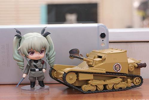 《少女与战车》CV33坦克粘土人配件开订