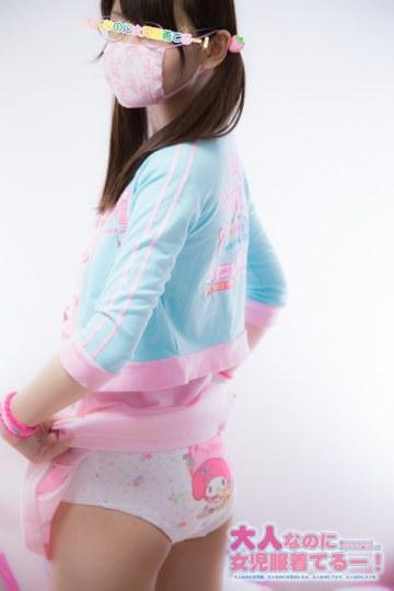 成年女性穿女童装的合法萝莉照片走红