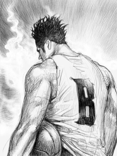 漫画家井上雄彦为日本职篮新联盟绘制插图