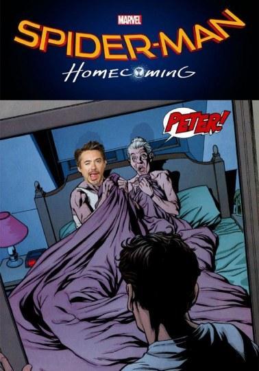 小罗伯特唐尼和梅婶同床共枕