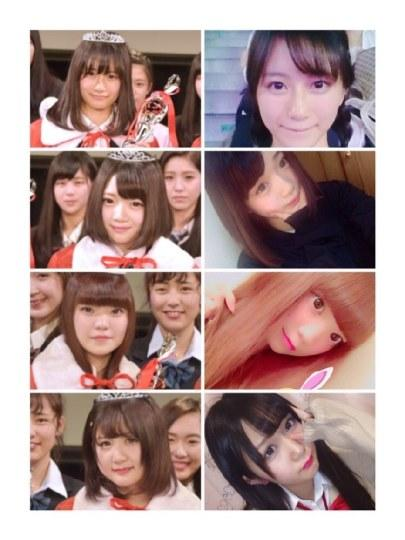 差别太大!日本最可爱高中生赛场照和自拍对比图公开