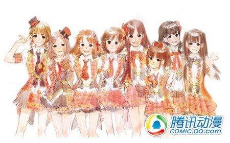"""人气偶像团体""""AKB48""""明年动画化"""
