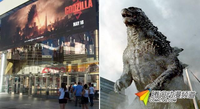 好莱坞版《哥斯拉》爆火 周末票房2亿