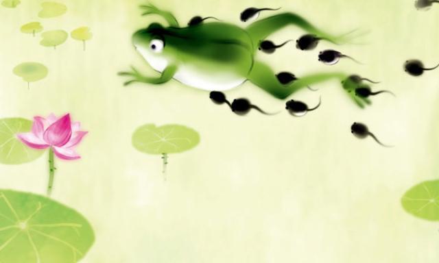 候选二:《小蝌蚪找妈妈》】图片
