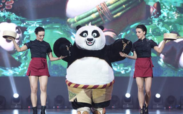 人气高!功夫熊猫获封最佳二次元网红