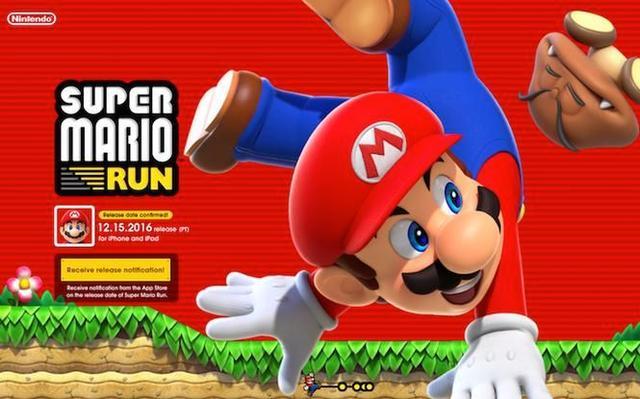 任天堂社长看好《马里奥酷跑》破1亿下载 氪金玩家将增多