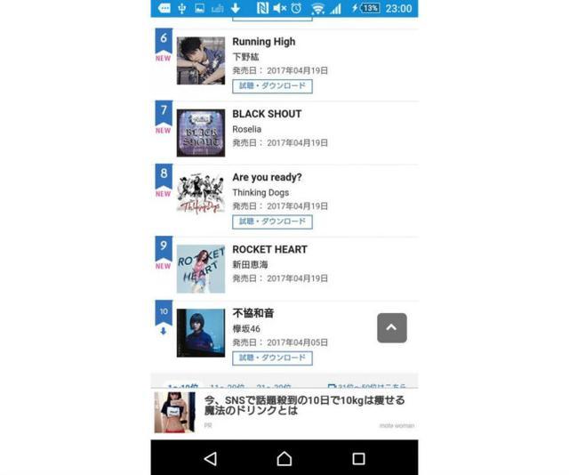 完全复活!新田惠海新单曲销量公信榜第九