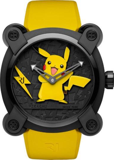壕无人性!瑞士手表制造商发售一款13万元皮卡丘手表