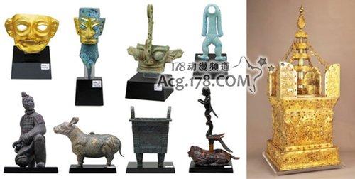 钉宫理惠、森田成一为中国文物展解说