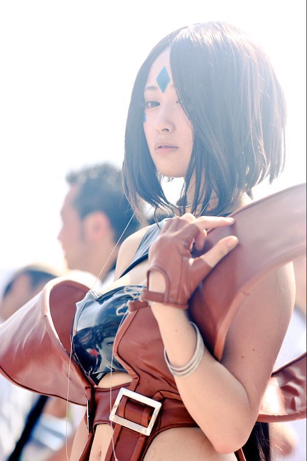 童颜巨乳人气COSER御伽NEKOMU演绎《我的女神》佩欧斯-萌草酱