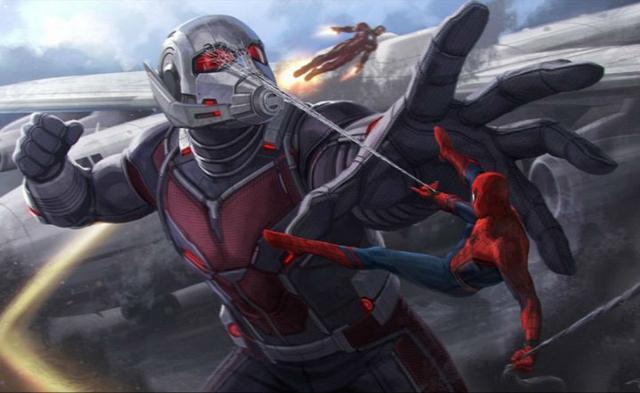 《美国队长3》曝概念图 美队钢铁侠激情开战