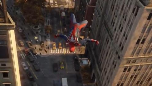 《蜘蛛侠》游戏新作登陆PS4 战衣狂拽酷炫