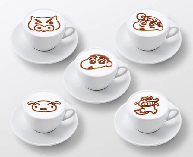 《蜡笔小新》25周年限定咖啡厅开业