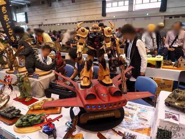 第55界静冈模型展惊现木制高达模型