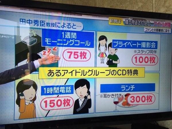 给钱还能一起洗澡?日本偶像特典商法引发争议