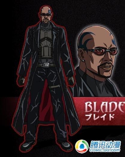 MARVEL系列新作动画《BLADE》详报
