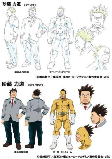 《我的英雄学院》追加新角色人设图及声优