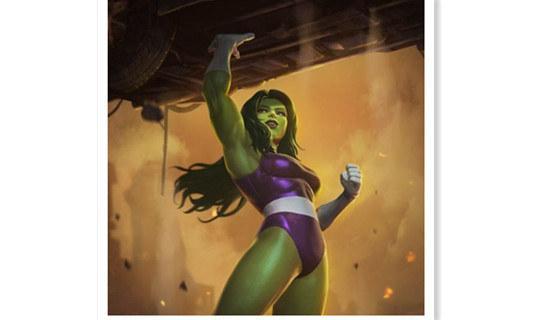 下一个是女绿巨人?雷切尔·塔拉里求拍《女绿巨人》