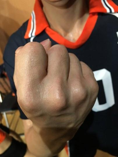 USJ展出超逼真《排球少年》等身大手办