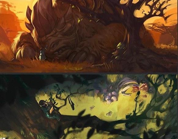 《魔兽世界:旅行者》画师放出新插图