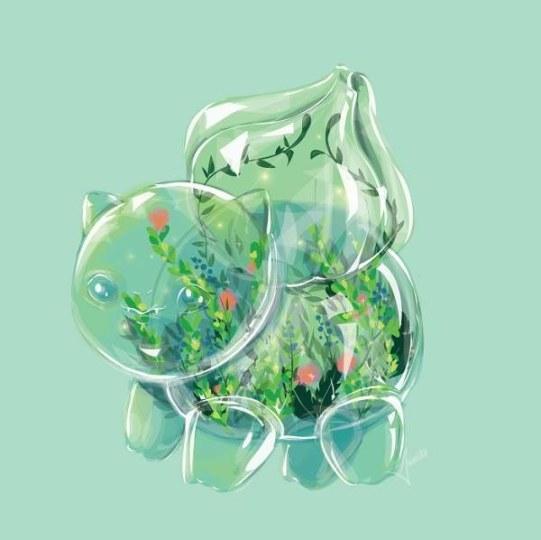 晶莹剔透、小巧可爱 玻璃小精灵美呆了