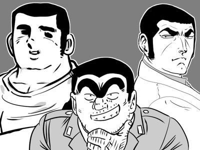 长寿日漫主角的共同特征:平头+粗眉+魁梧?