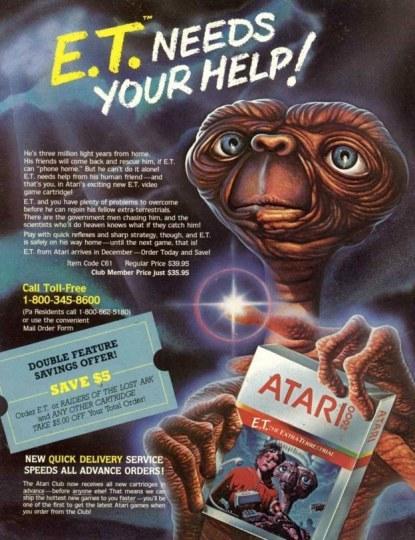 《ET》作者自嘲:曾做出亏损3亿的垃圾游戏
