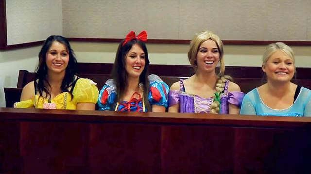 有创意!迪士尼公主的收养听证会