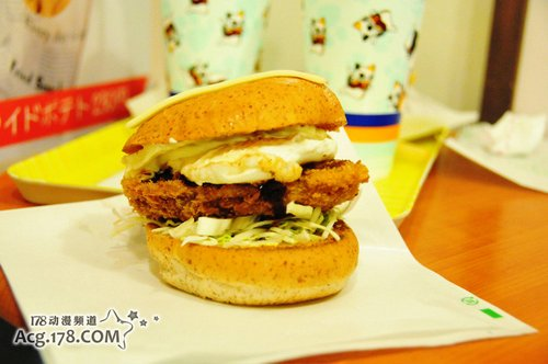 各种美食 NAMCO银魂主题餐厅开业