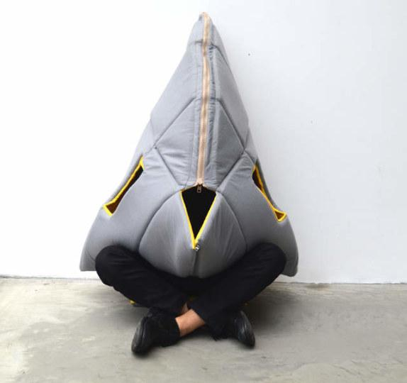 鲨鱼造型软家具给你一个私密空间