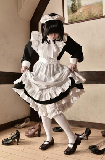 森�`亲自监修《雪莉》女仆装发售