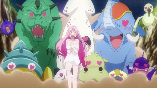 《出包王女》OVA第16卷:赛菲妈妈被凌辱