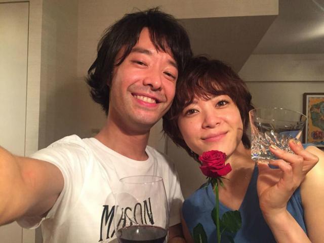 上野树里和摇滚乐队主唱结婚