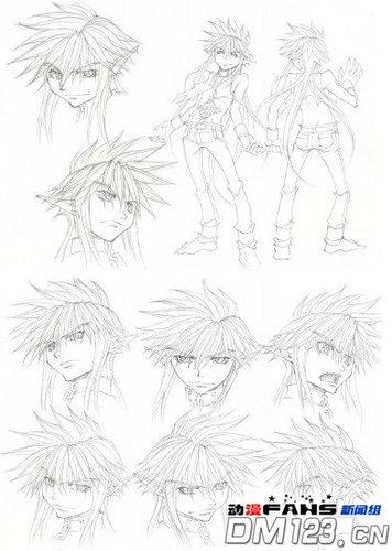 OVA[最游记外传]人物设定已公开!