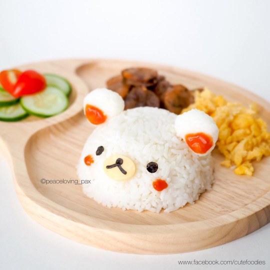 你忍心吃吗?泰国网友自制小埋等众多精巧动漫形象饭团