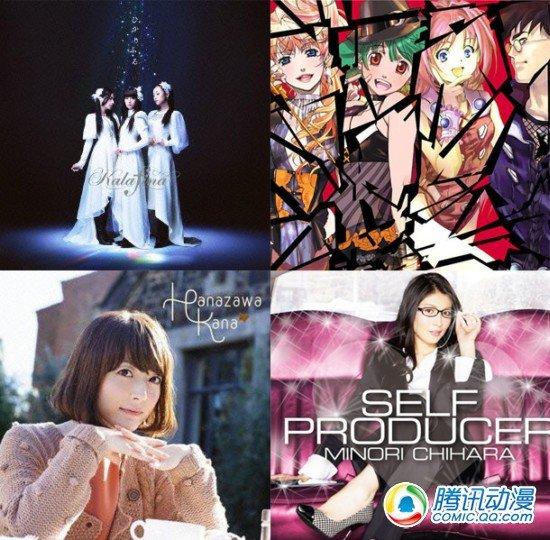 动漫、声优歌曲日本排行榜大爆发