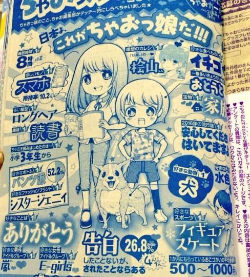 现实的《12岁。》!日媒调查真实的小学女生现状