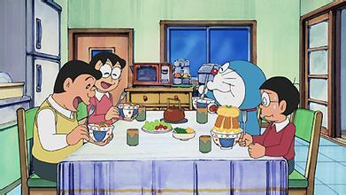 网友:哆啦A梦在大雄家里是不是吃白饭的