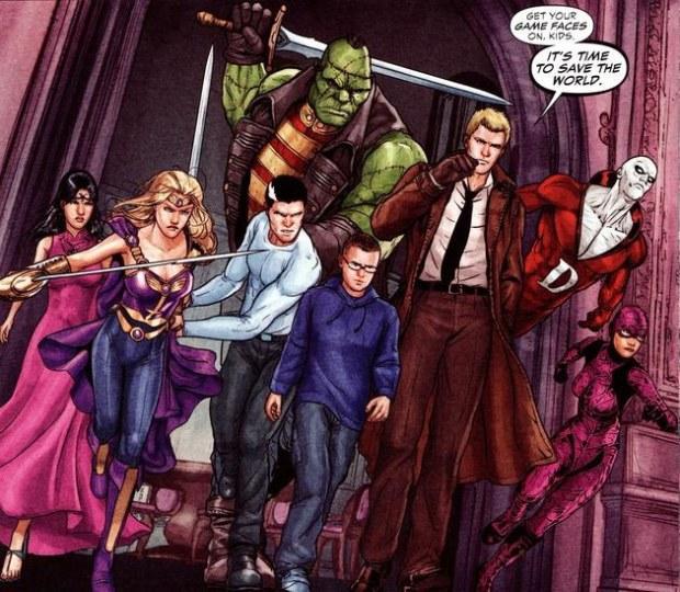 DC漫画《黑暗正义联盟》动画 金秋面世