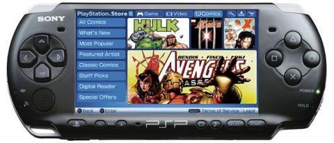 索尼即将关闭PSP线上漫画商店服务