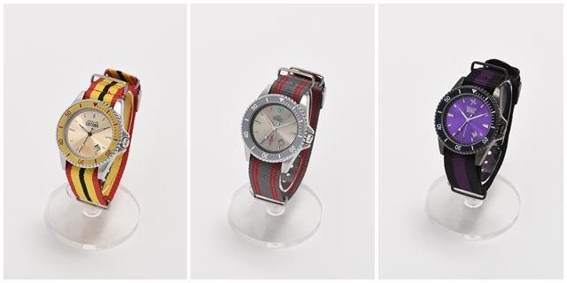 日本商家推出3款《一拳超人》手表