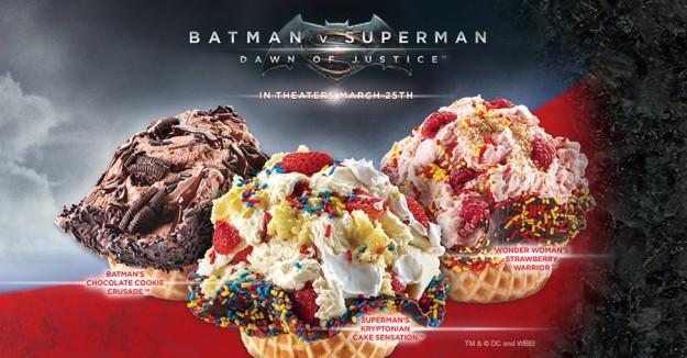 看到就想吃!《蝙蝠侠大战超人》主题冰淇淋