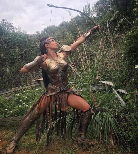 _《神奇女侠》女战士个个都是真战士
