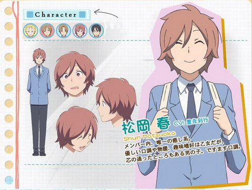 《少年同盟》电视动画 10 月开播 人物设定情报公开
