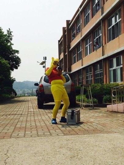 毕业儿童欢乐多!Cosplay毕业照在韩国兴起