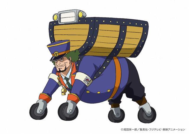 《航海王》动画原创《银矿篇》公开大量新情报