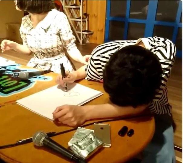 喝醉是诀窍!绘师教你画艺术签名板绘