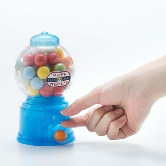 日本推出傲娇味猫咪泡泡糖机